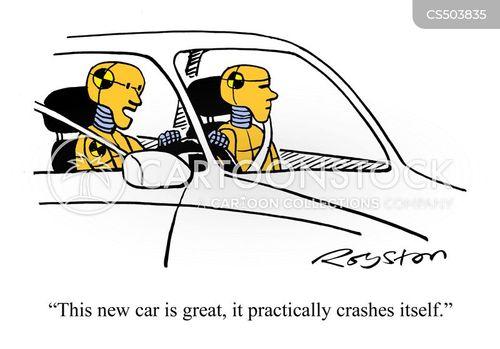 safety tests cartoon