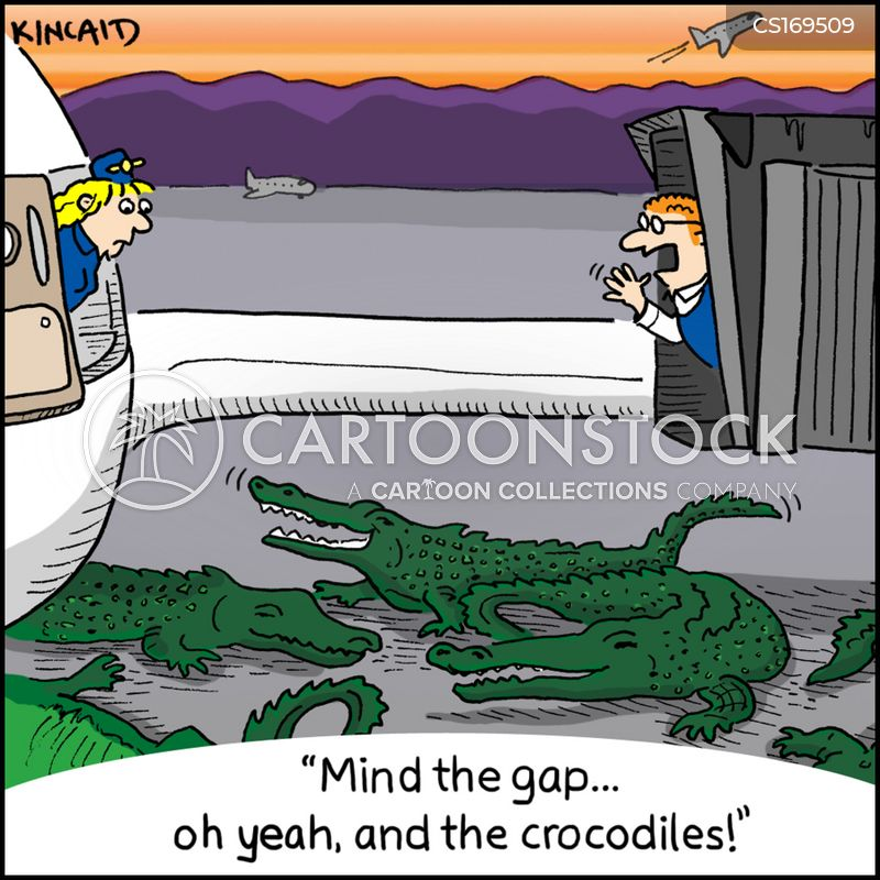 croc cartoon