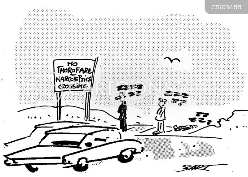 narcoleptics cartoon