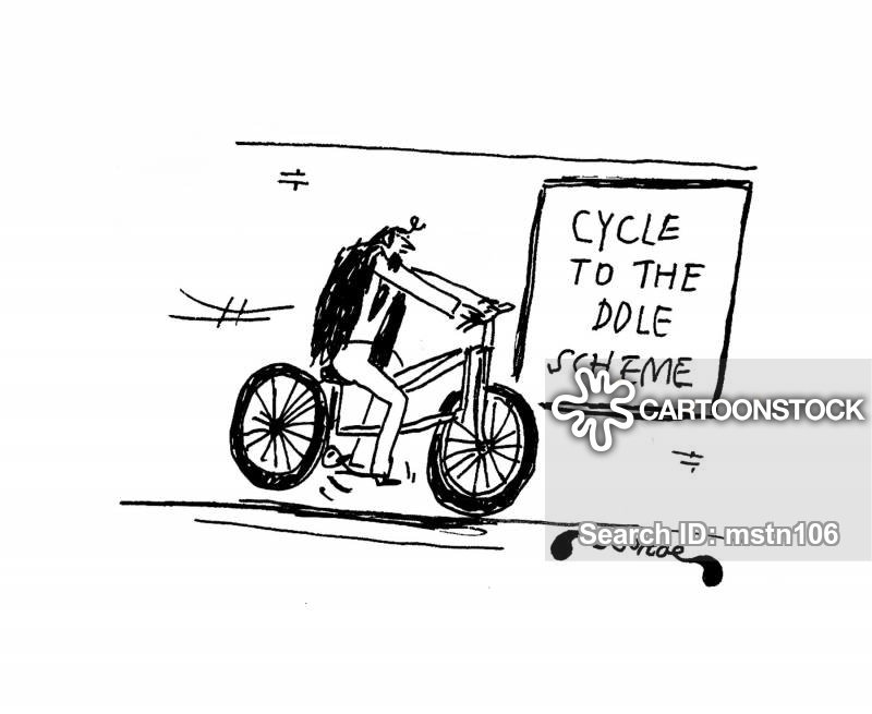 cycle to work cartoon