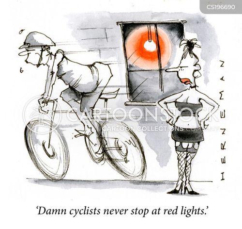 loitering cartoon