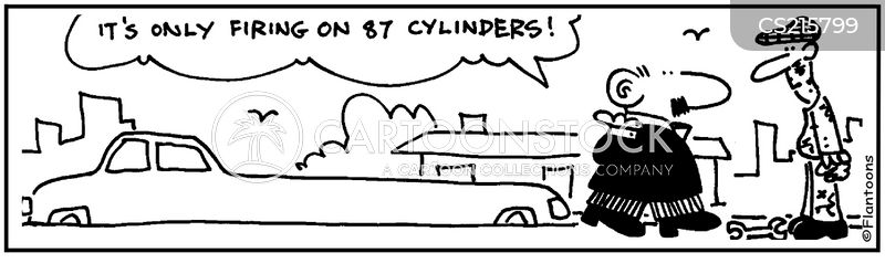cylinders cartoon