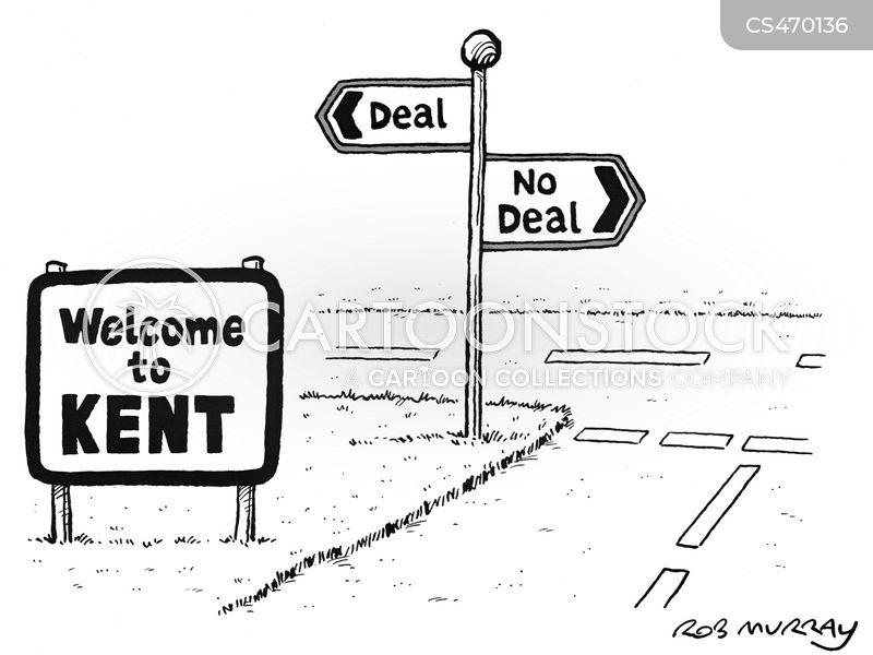 no deal cartoon