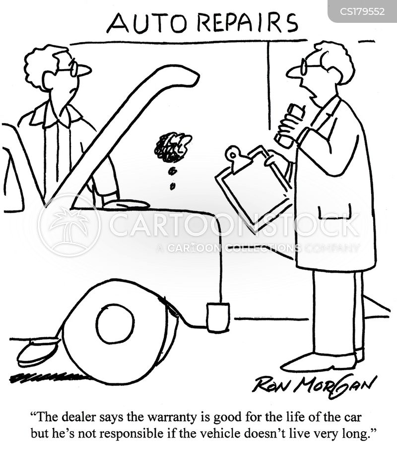 warranty cartoon