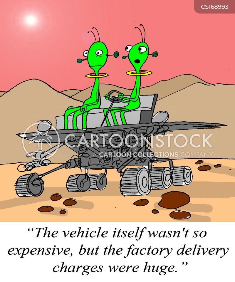 delivery fees cartoon