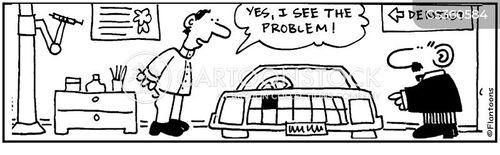 car grill cartoon