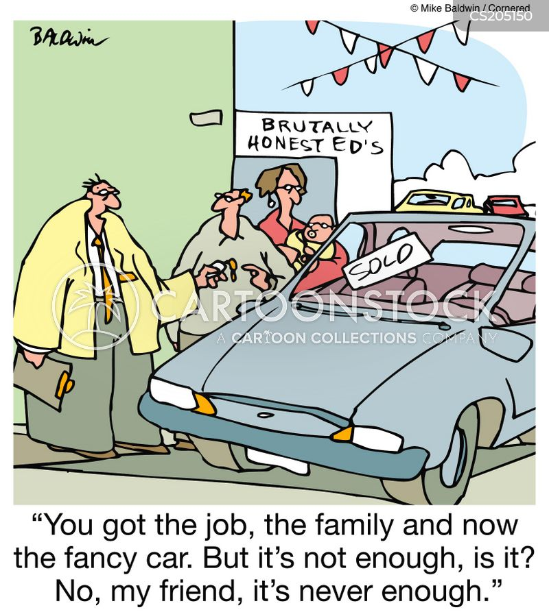 Conspicuous Consumption Cartoons And Comics Funny