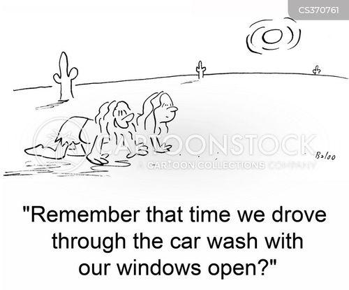 open windows cartoon