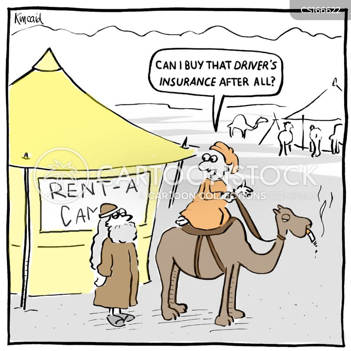 rentals cartoon