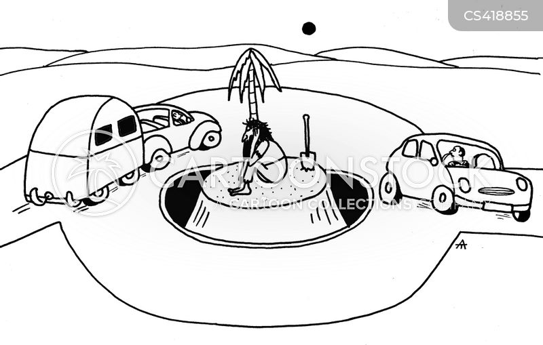 roundabouts cartoon