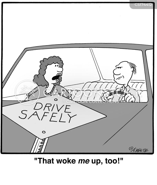 sign post cartoon