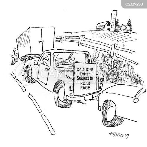 road-rages cartoon
