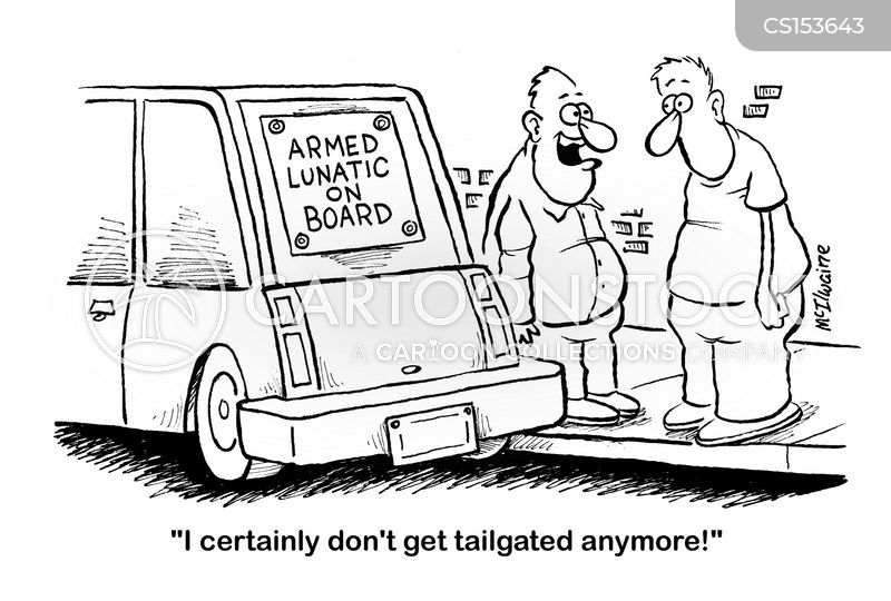 Bad Driving Cartoon 6 of 31