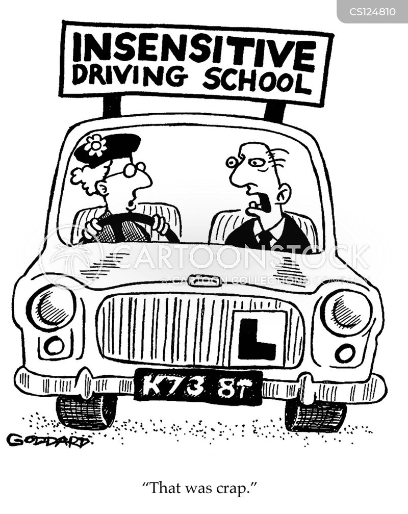 instructors cartoon