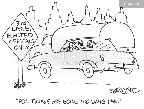bus lanes cartoon