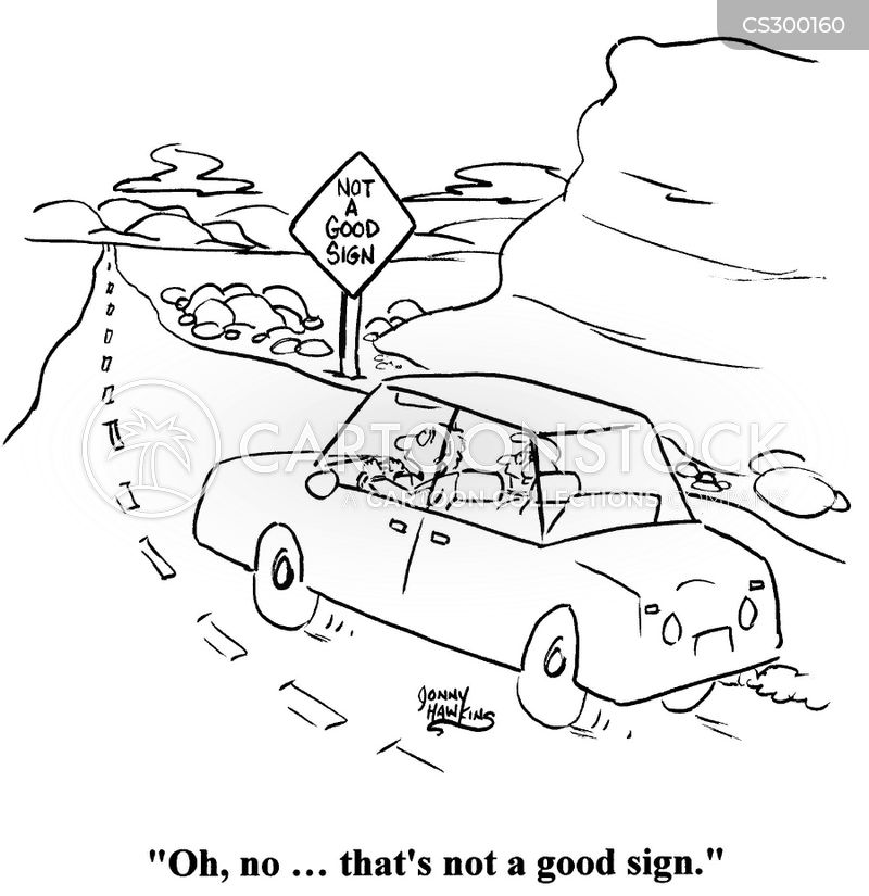 Bad Signs Cartoon 6 of 26