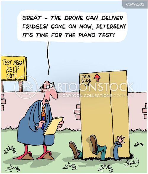 delivery company cartoon
