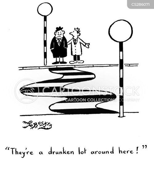 straight line cartoon