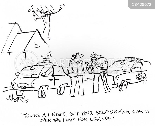 traffic offence cartoon