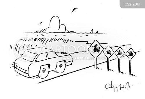 marshes cartoon