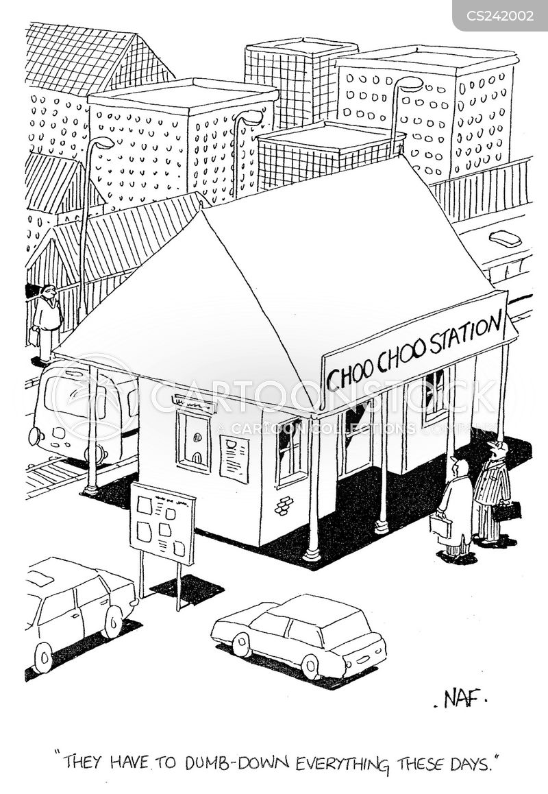 education levels cartoon
