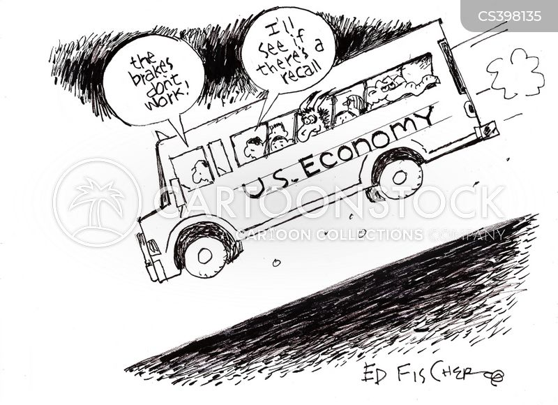 down hill cartoon