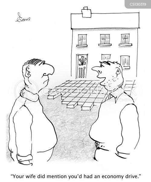 paving cartoon