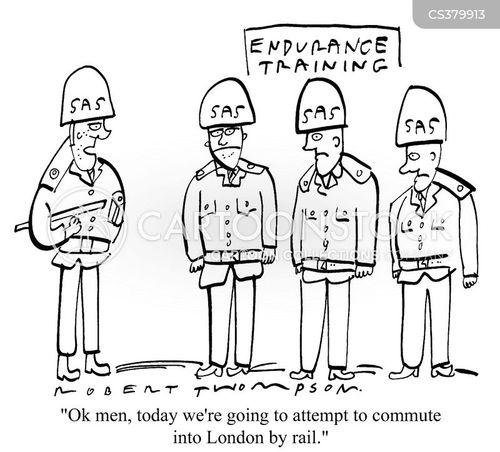 endurance cartoon