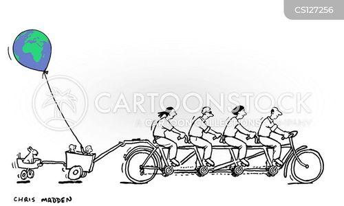 sustainable energy cartoon