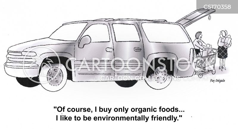 sports utility vehicle cartoon