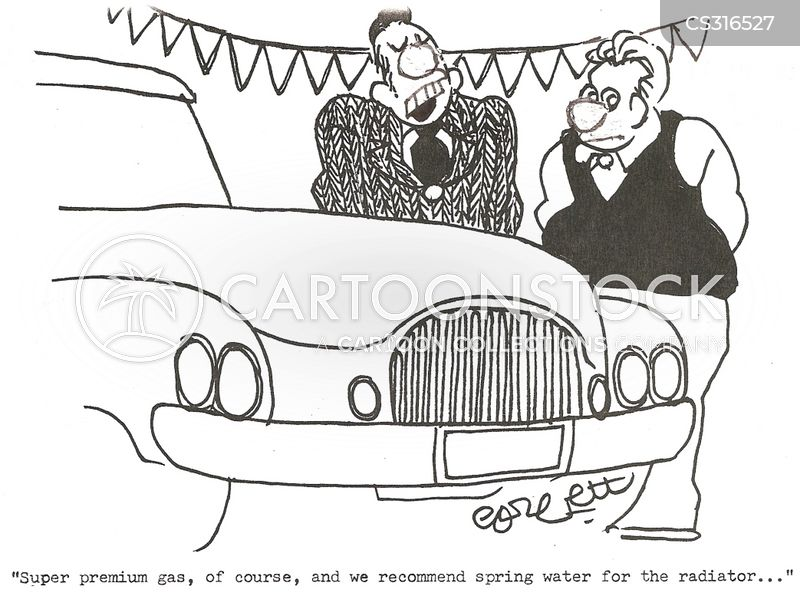 expensive car cartoon
