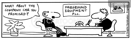 fairground equipments cartoon