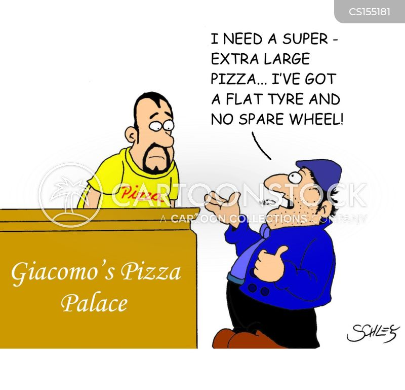 pizza parlor cartoon