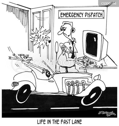 dispatchers cartoon
