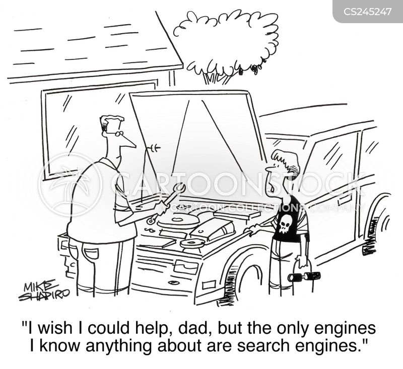 Internet Search Engine Cartoons And Comics - Funny -4438