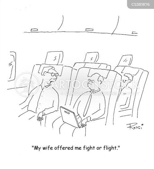 air flight cartoon