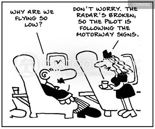 radars cartoon