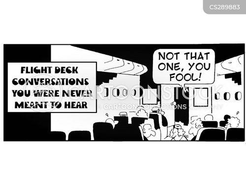 overheard cartoon