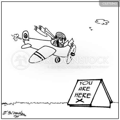 flight plan cartoon