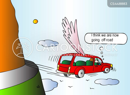 flying cars cartoon