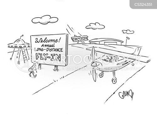 air show cartoon