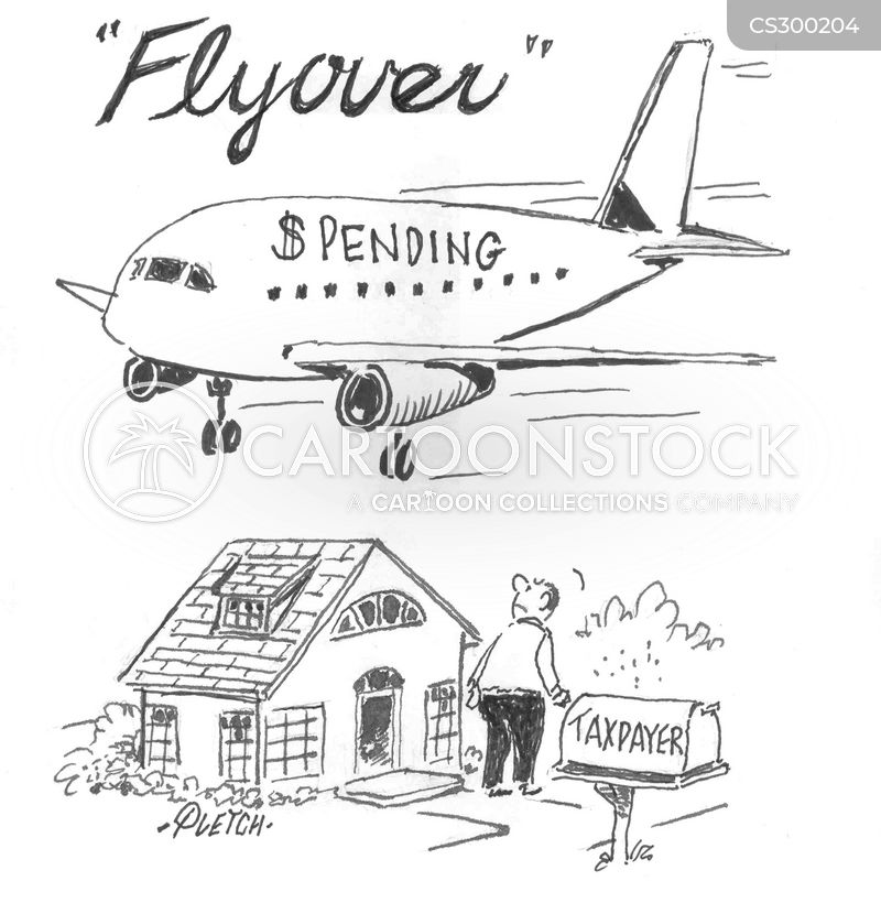 flyovers cartoon