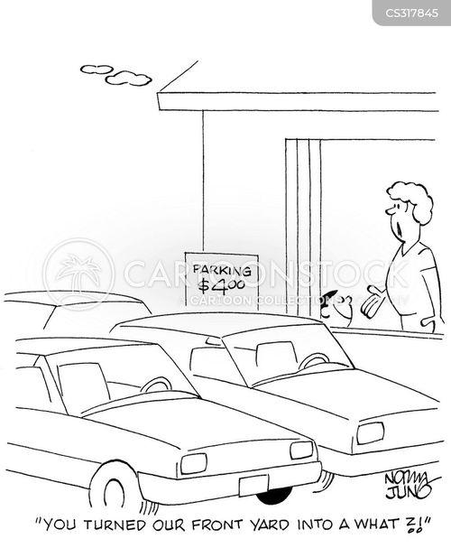 front yard cartoon