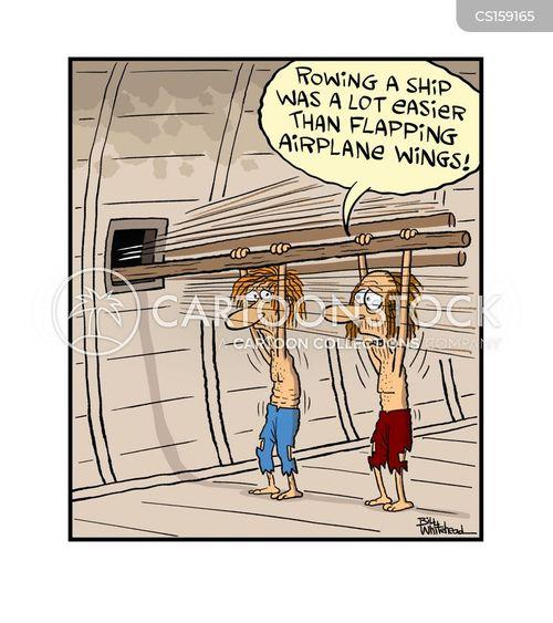 airplane travel cartoon