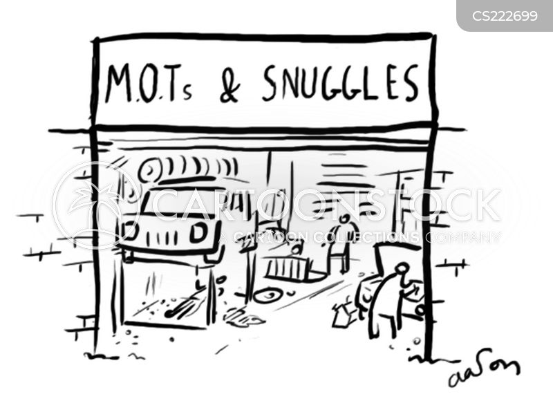 mots cartoon