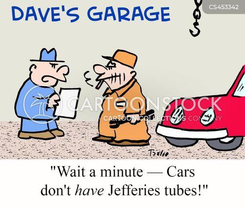 mechanic bill cartoon