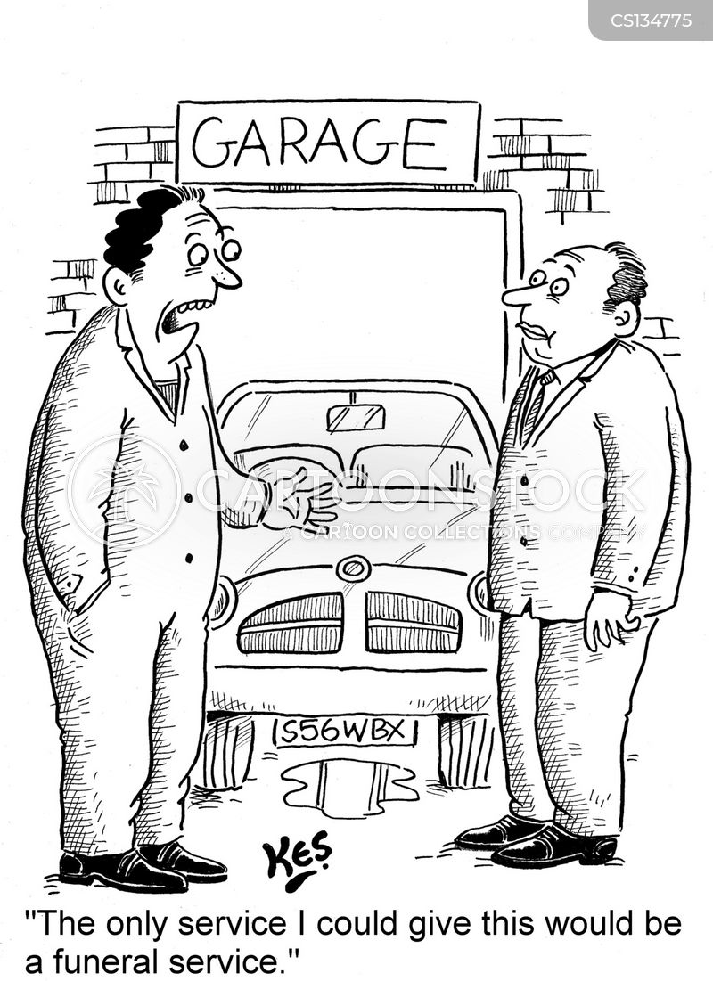 car services cartoon