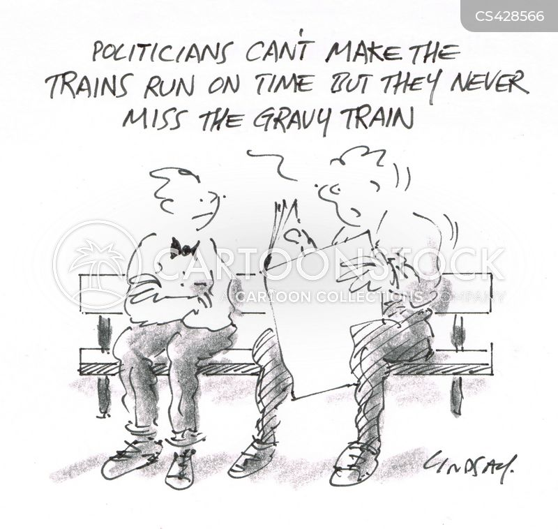gravy trains cartoon