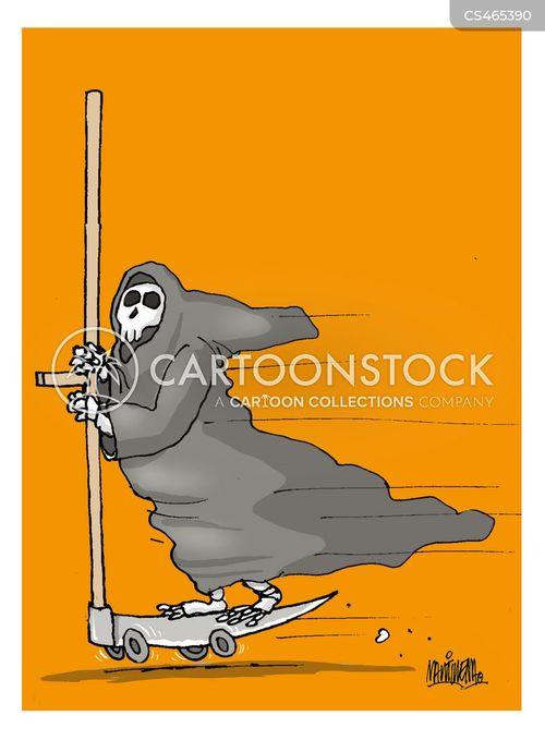 transport accidents cartoon