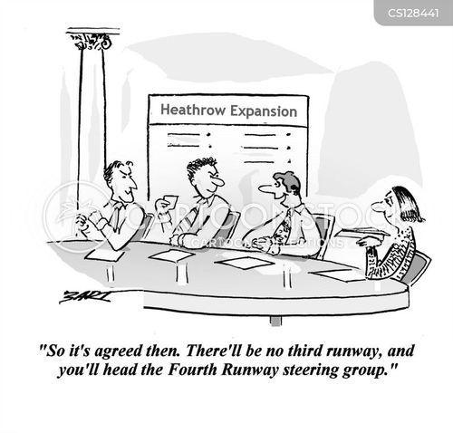 heathrow airport cartoon